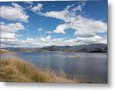 Lake Granby -- The Third-largest Body Of Water In Colorado Metal Print by Carol M Highsmith