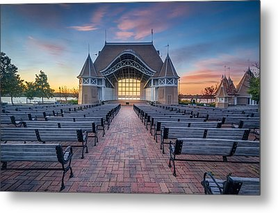 Lake Harriet Bandshell Metal Print