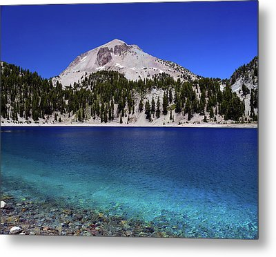 Metal Print featuring the photograph Lake Helen Mount Lassen 2 by Frank Wilson