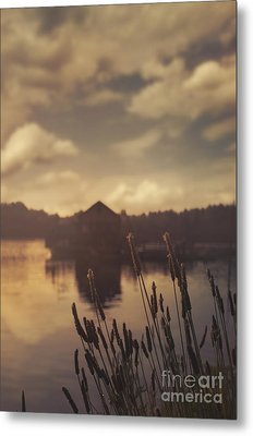 Lake House Metal Print by Jelena Jovanovic