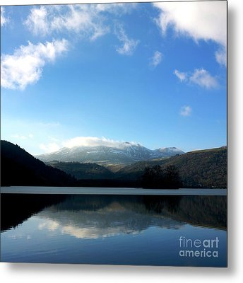 Lake In Auvergne Metal Print by Bernard Jaubert