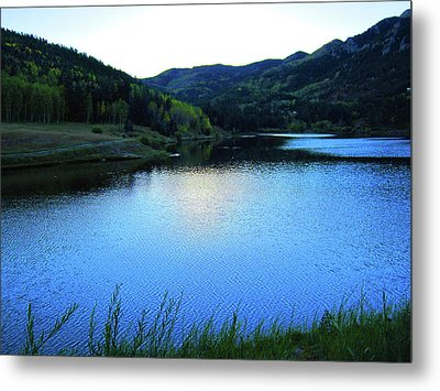 Metal Print featuring the photograph Lake In Colorado by Tammy Sutherland