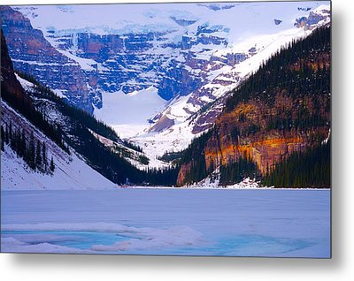Lake Louise Metal Print by Paul Kloschinsky