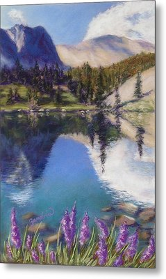 Lake Marie Metal Print by Zanobia Shalks