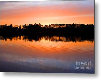 Lake Maumelle Sunset Metal Print