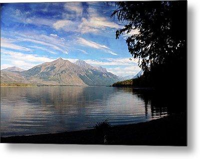 Lake Mcdonald 20 Metal Print by Marty Koch