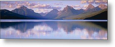 Lake Mcdonald Glacier National Park Mt Metal Print by Panoramic Images