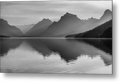 Lake Mcdonald Metal Print