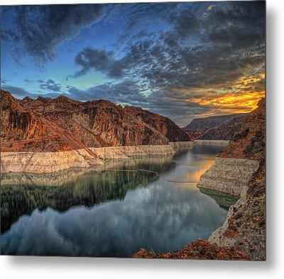 Lake Mead Sunrise Metal Print