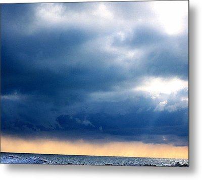 Lake Michigan Sky Metal Print by Andrew Jagniecki