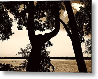 Lake Minnesota Metal Print by Susan Stone