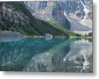 Metal Print featuring the photograph Lake Moraine by Patricia Hofmeester