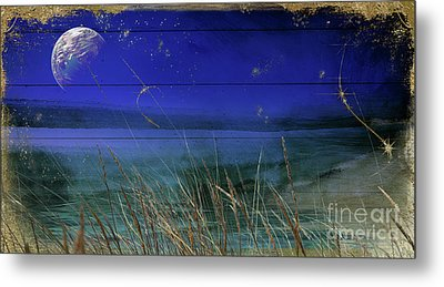Lake Of Stars II Metal Print by Mindy Sommers