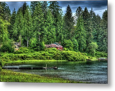 Lake Quinault 3 Metal Print