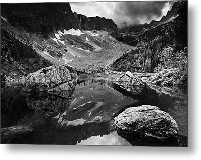 Metal Print featuring the photograph Lake Reflections by Yuri Santin