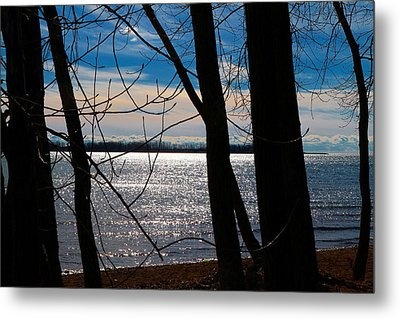 Metal Print featuring the photograph Lake Romance by Valentino Visentini