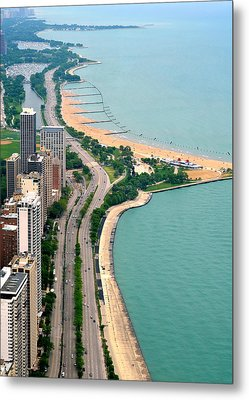 Lake Shore Dr . Chicago Metal Print