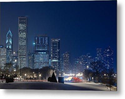 Lake Shore Drive Chicago Metal Print by Steve Gadomski