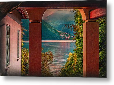 Lake View Metal Print by Hanny Heim