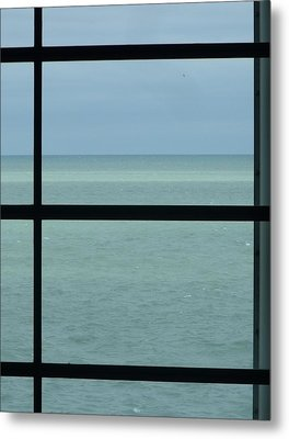 Lake View I Metal Print by Anna Villarreal Garbis