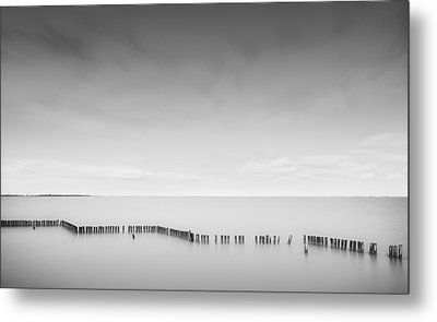 Lake Wellington Metal Print by Mihai Florea