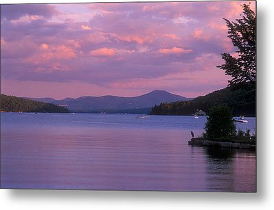 Lake Winnipesaukee Evening Metal Print