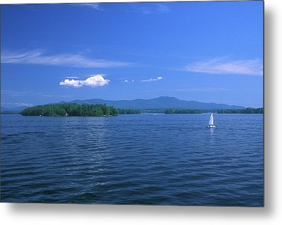 Lake Winnipesaukee Summer Day Metal Print