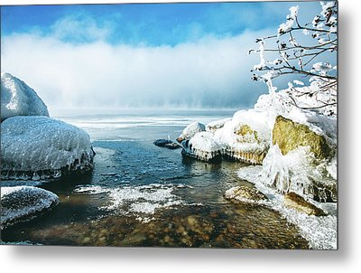 Metal Print featuring the photograph Lake Winnisquam by Robert Clifford