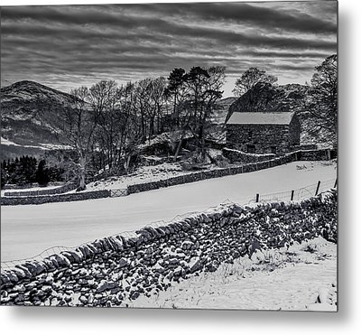 Metal Print featuring the photograph Lakeland Barn by Keith Elliott
