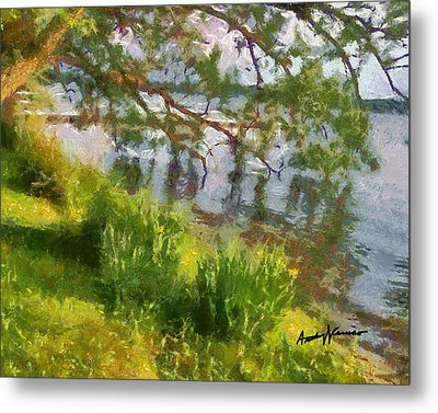 Lakeshore Metal Print by Anthony Caruso