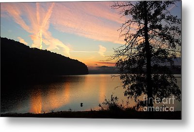 Lakeside Dreaming Metal Print