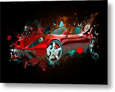 Lamborghin Metal Print by Mark Ashkenazi