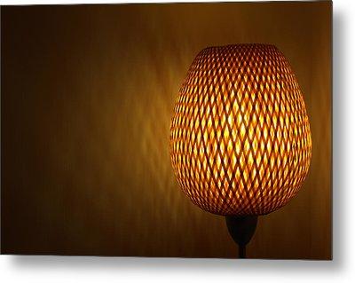 Lamp Metal Print