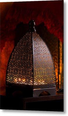 Lamp Shades  Metal Print