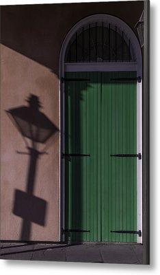 Lamp Shadow Metal Print