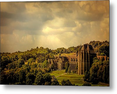 Metal Print featuring the photograph Lancing College by Chris Lord