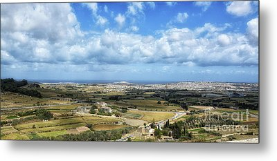 Land And Sky Metal Print by Stephan Grixti