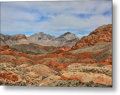Metal Print featuring the photograph Land Of Fire by Tammy Espino