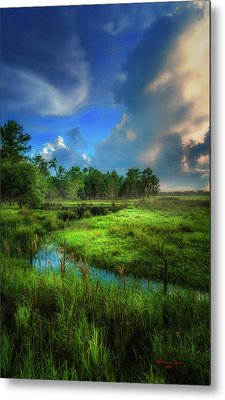 Land Of Milk And Honey Metal Print by Marvin Spates