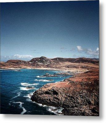 Land On The Edge Of The World - Ardnamurchan #5 Metal Print by Kate Morton