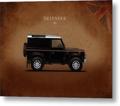 Land Rover Defender 90 Metal Print by Mark Rogan