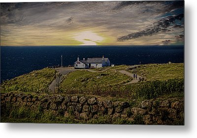 Lands End Metal Print by Martin Newman