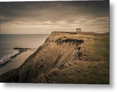 Land's End Metal Print by Odd Jeppesen