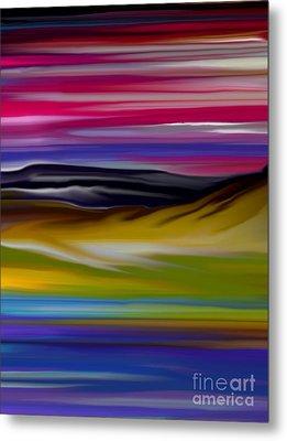 Landscape 7-11-09 Metal Print by David Lane