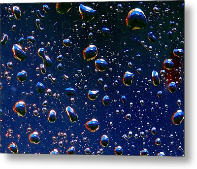 Metal Print featuring the photograph Landscape Bubbles by Marianne Dow