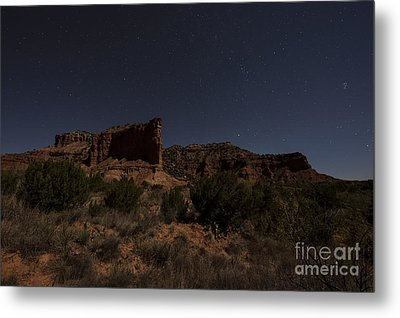 Metal Print featuring the photograph Landscape In The Moonlight by Melany Sarafis