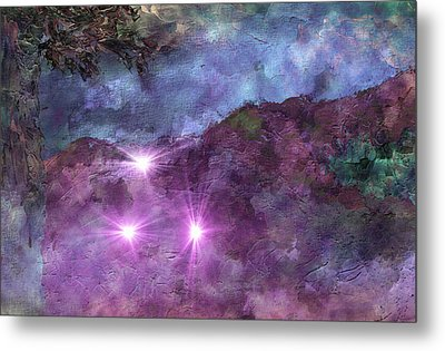 Landscape Mist Metal Print by Dorothy Berry-Lound