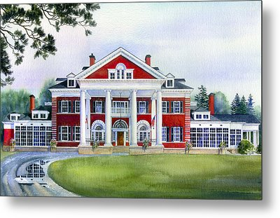 Langdon Hall Metal Print by Hanne Lore Koehler