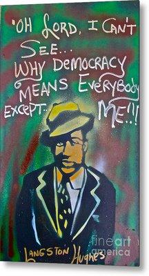 Langston Hughes Metal Print by Tony B Conscious