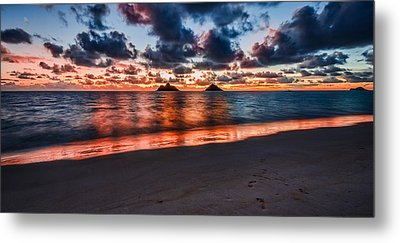 Lanikai Beach Metal Print